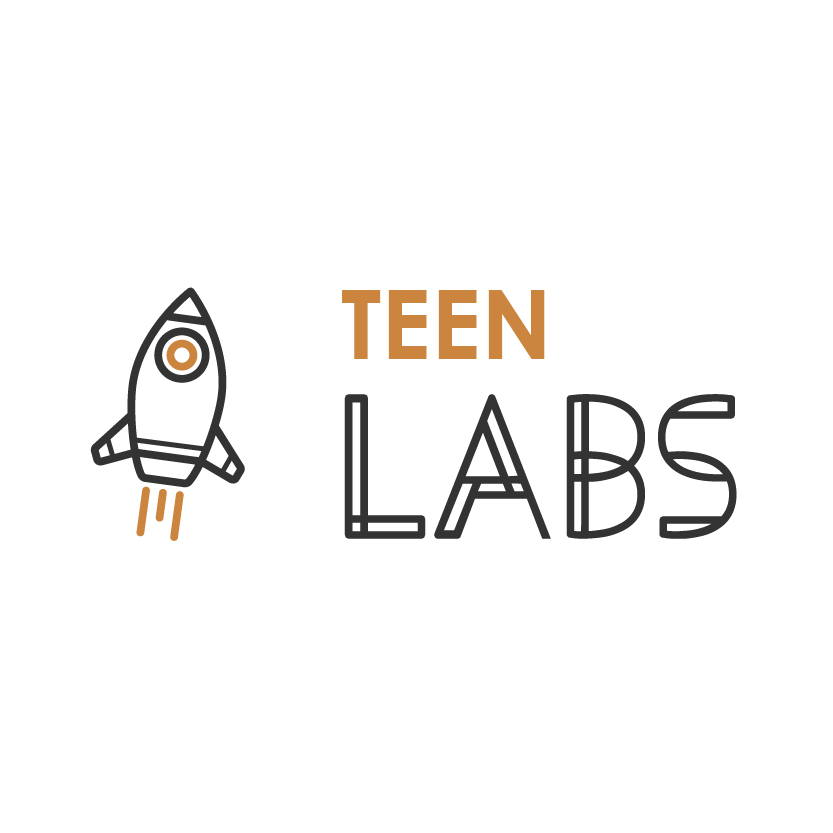 identitate brand logo Teen Labs Bucuresti