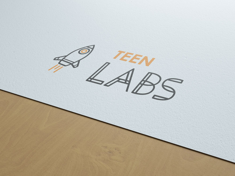 identitate brand Teen Labs Bucuresti