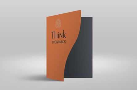 identitate brand Think Economics Bucuresti